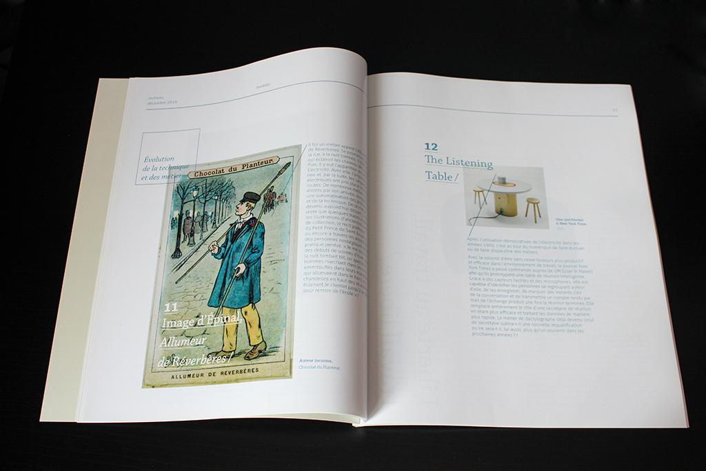 Mémoire de recherche - page intérieure