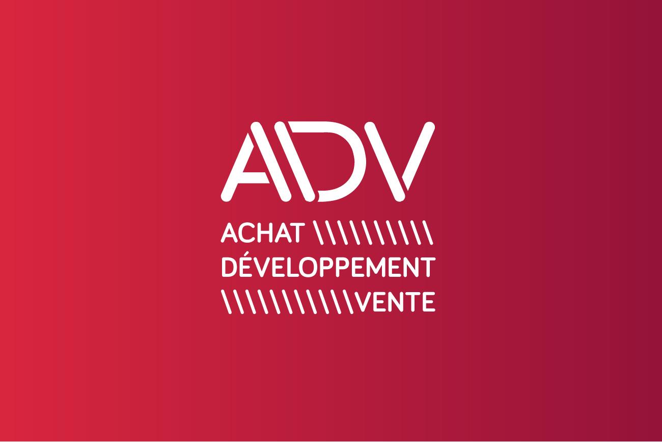 Logo ADV - rouge