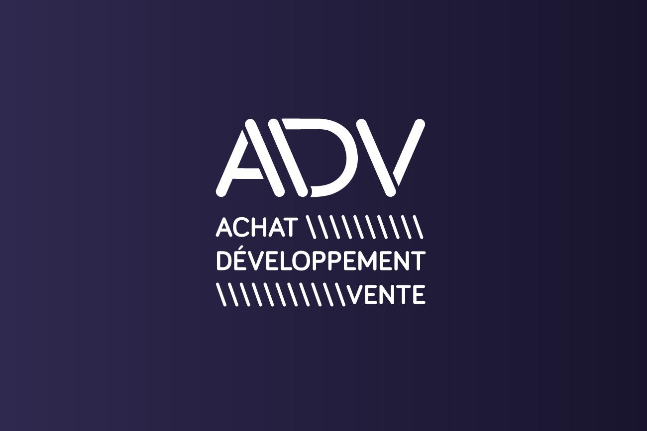 Logo ADV - violet