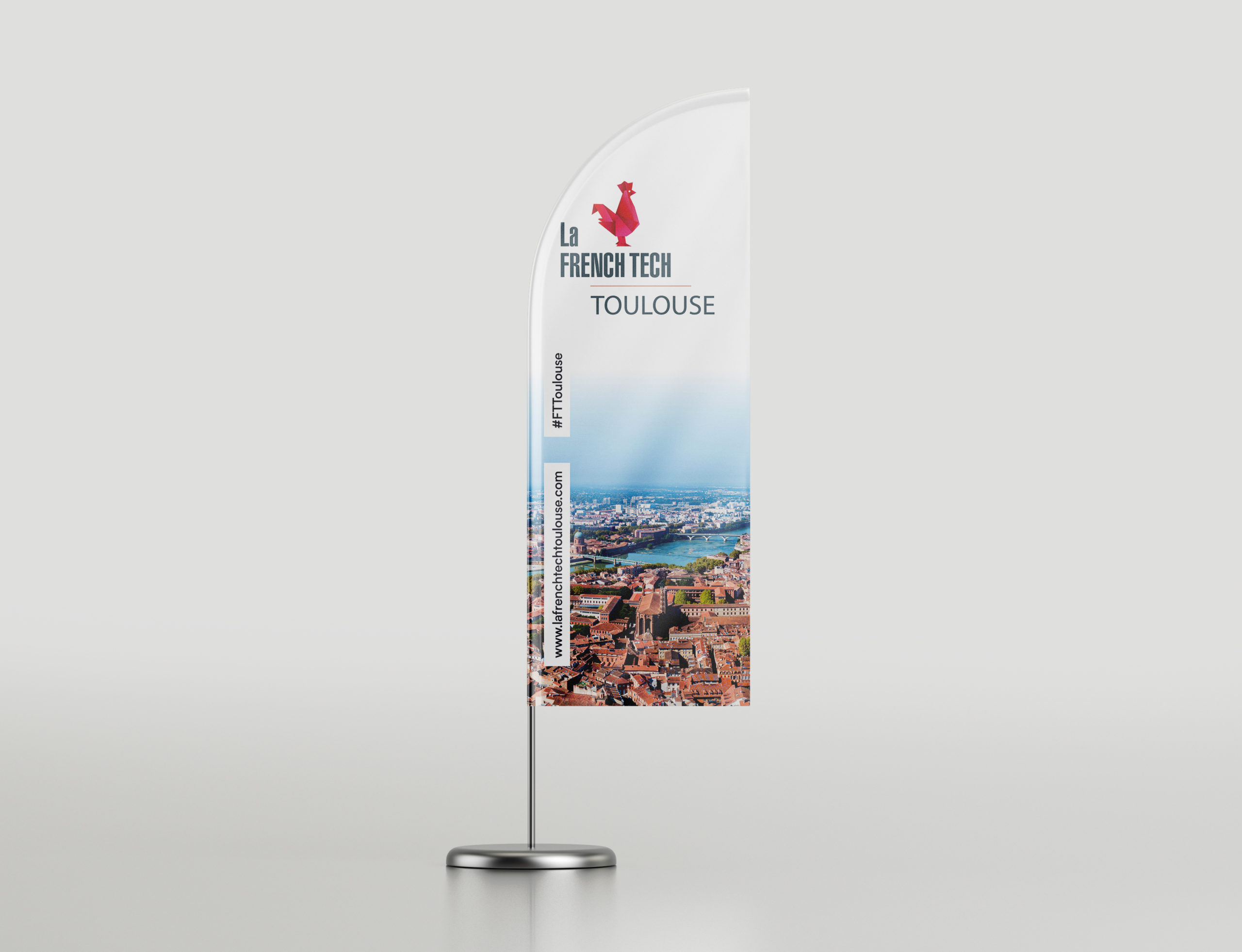 French Tech Toulouse - windflag