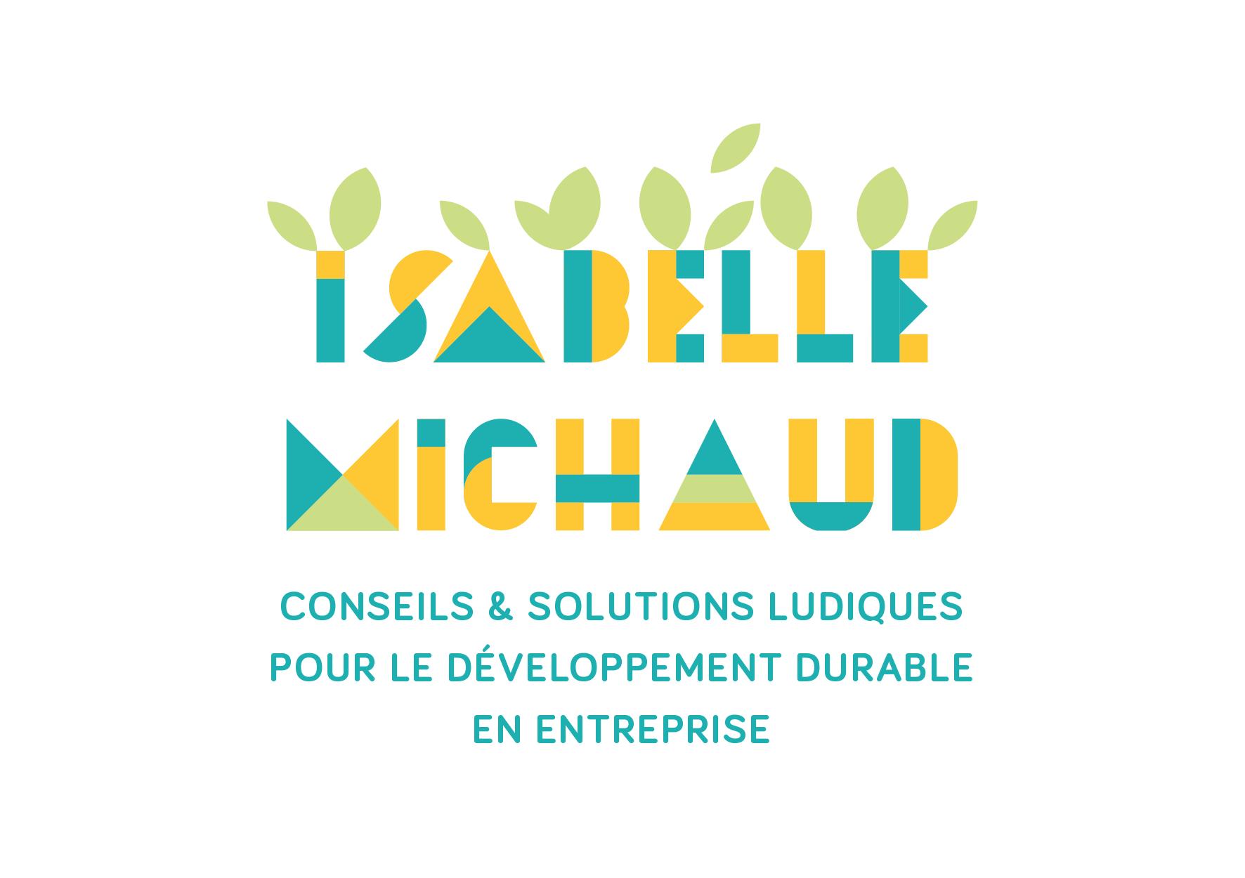 2nde version logo - Isabelle Michaud