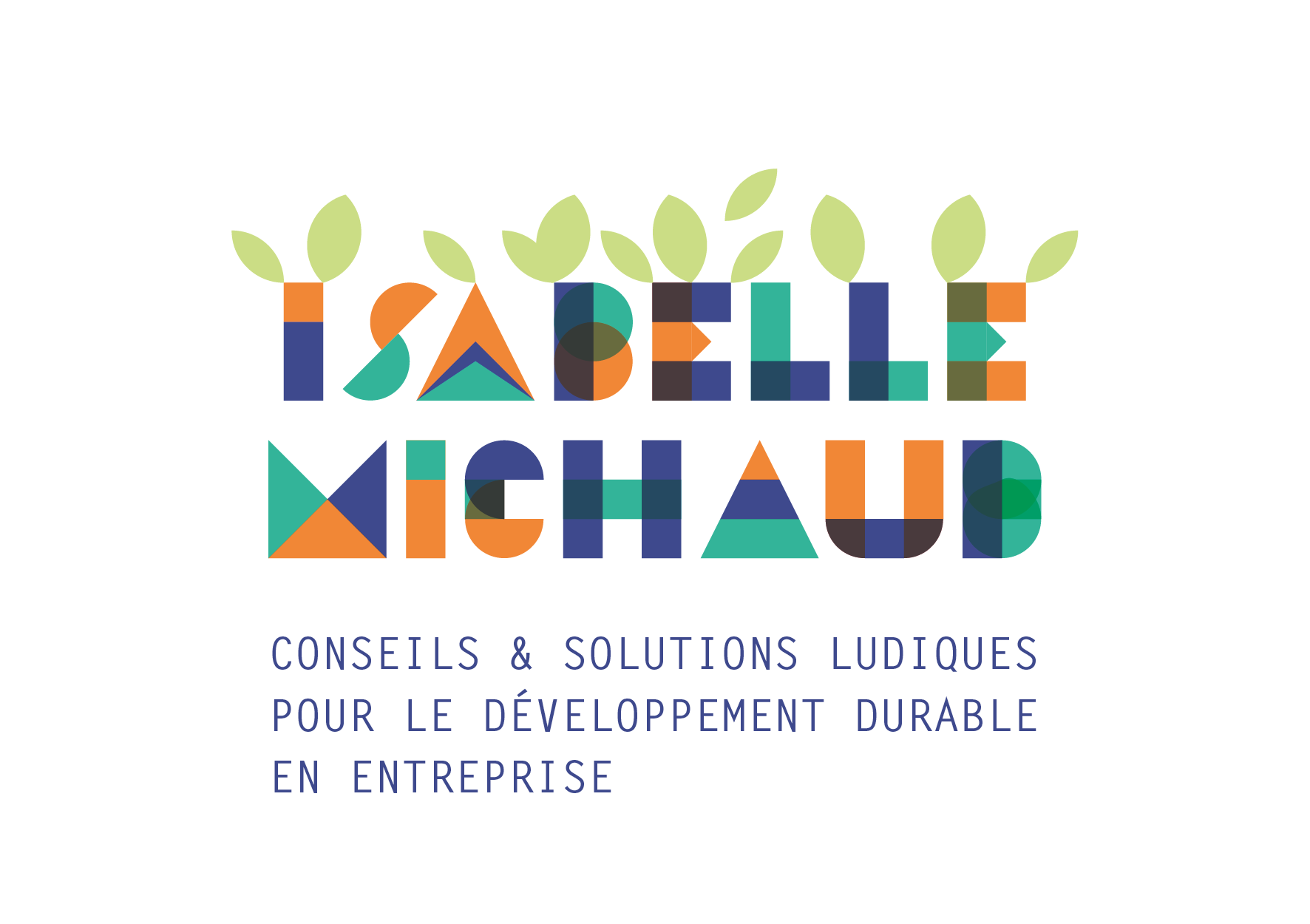 1ere version logo - Isabelle Michaud